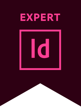 Adobe InDesign Expert Badge